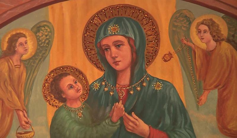 """La Preghiera del Rosario con il Vescovo Francesco dalla scuola dell'infanzia """"Cavagnis"""" di Zogno"""
