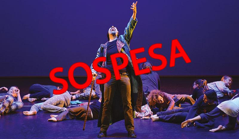"Sospesa la rassegna ""Teatro e cinema del Sacro"""